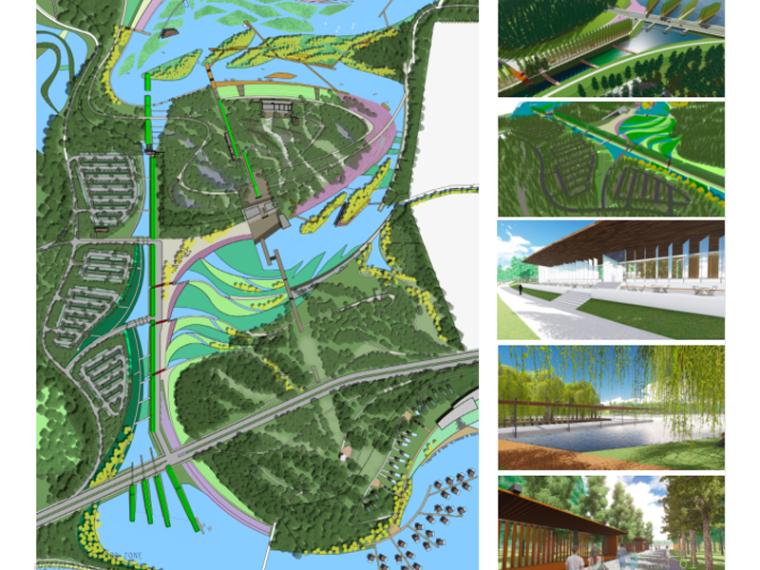[四川]成都狮子湖100%景观方案文本(湿地生态)