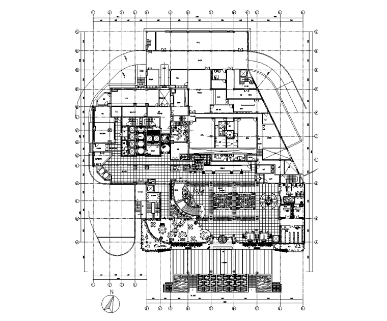 浙江五星级商务会议型酒店施工图设计(含效果)