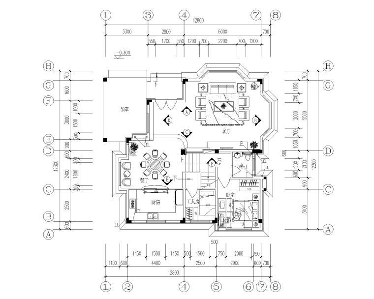 五居及以上 图纸深度:施工图 设计风格:现代风格 图纸格式:jpg,cad200