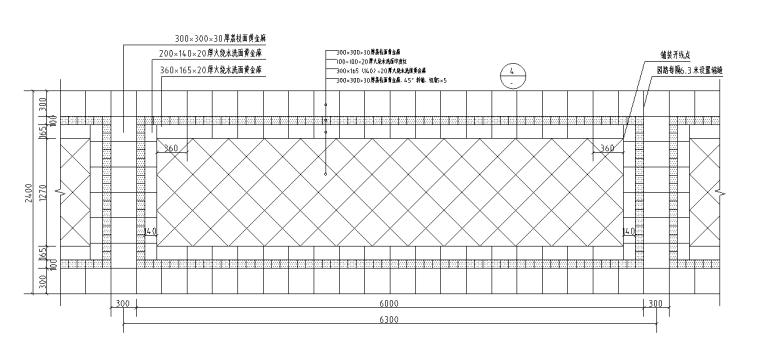 高端标准园路铺装(直线系列|恒大设计院)