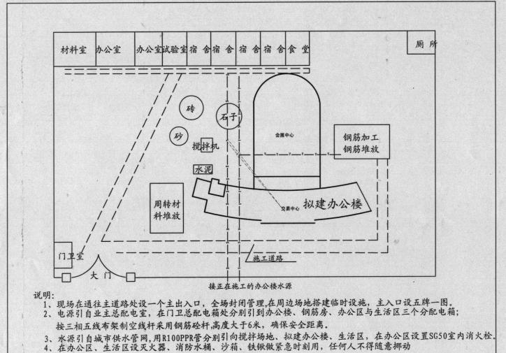 南部县政务服务中心施工组织设计方案