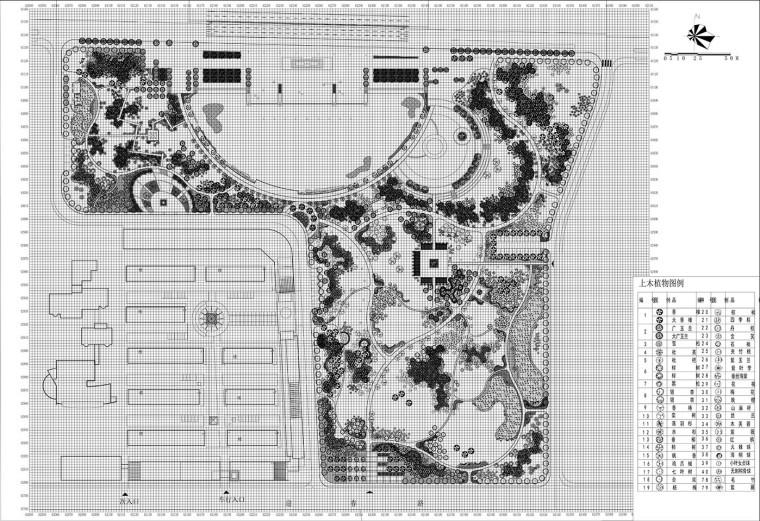 [江苏]丹阳市南片新区公园全套施工图纸(景观施工水电都包括)