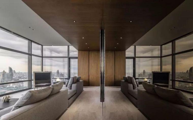 室内设计 130㎡的单身公寓,设计感十足_8