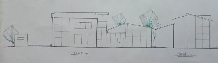 长城脚下风景区别墅设计_5