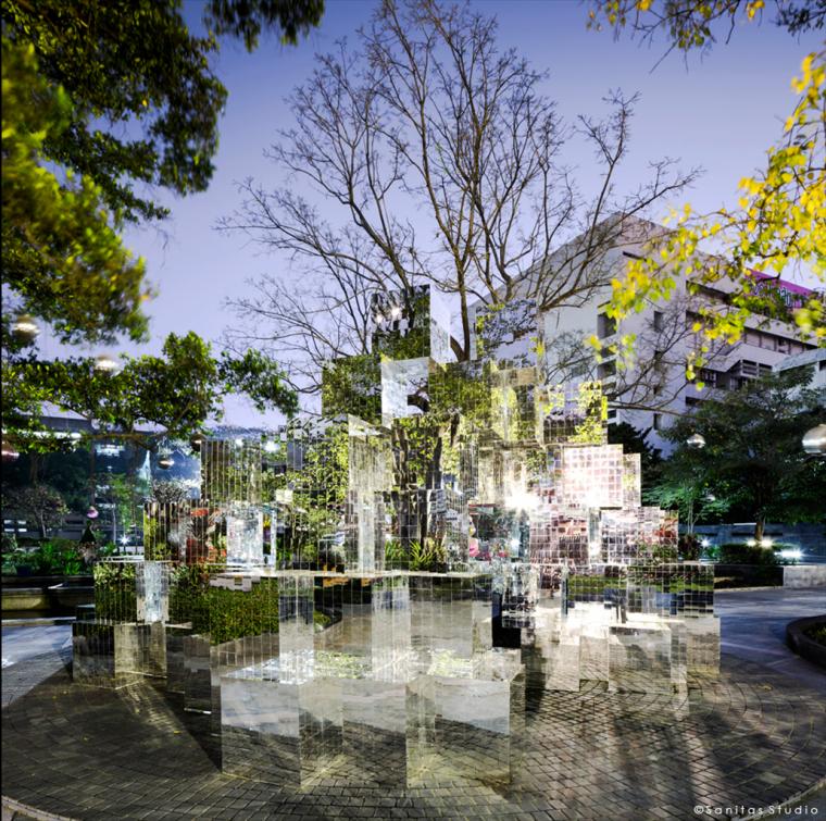 泰国Siam公园KHAOMO装置_3
