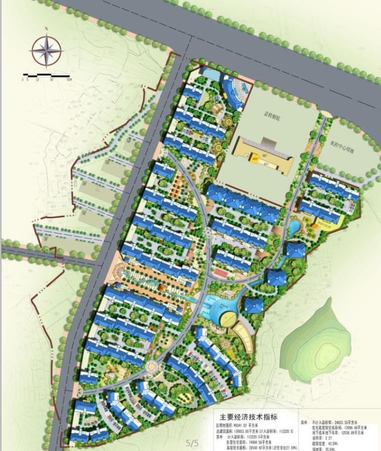 居住区规划完整全套SU模型+CAD+效果图