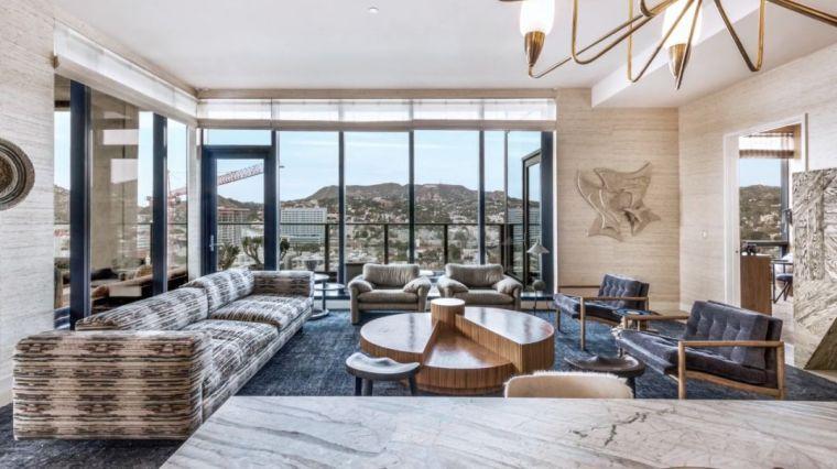 好莱坞的酒店公寓,奢华的画风都变了……_36