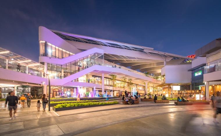 泰国Megabangna山谷购物中心