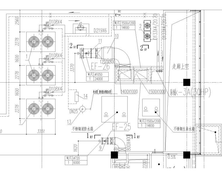 [上海]某大型数据处理中心暖通施工图_4