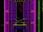 超高层框架结构重庆金贸广场设计施工图
