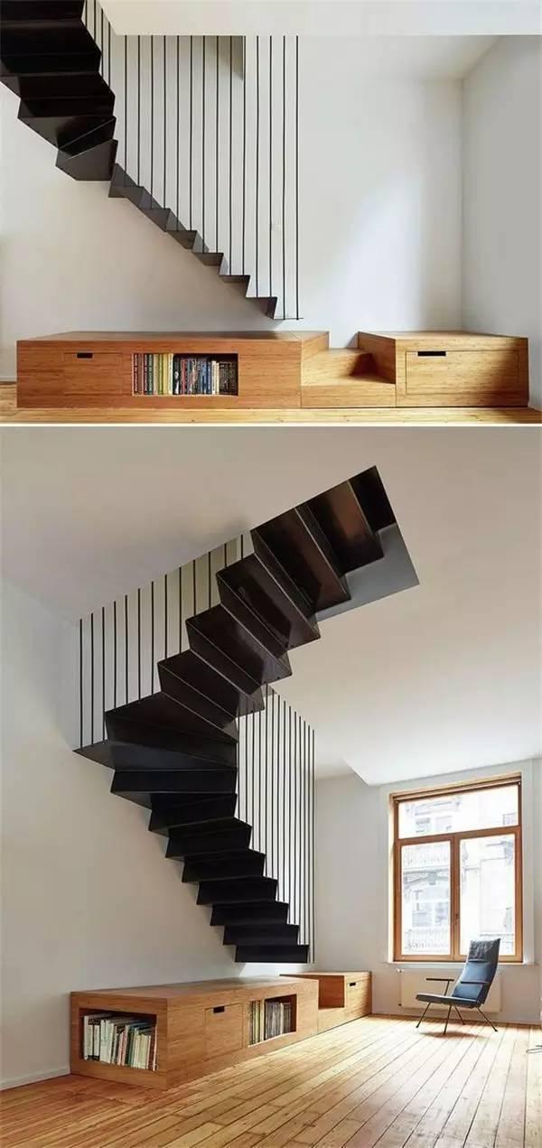 家里再小,都能装个楼梯_33