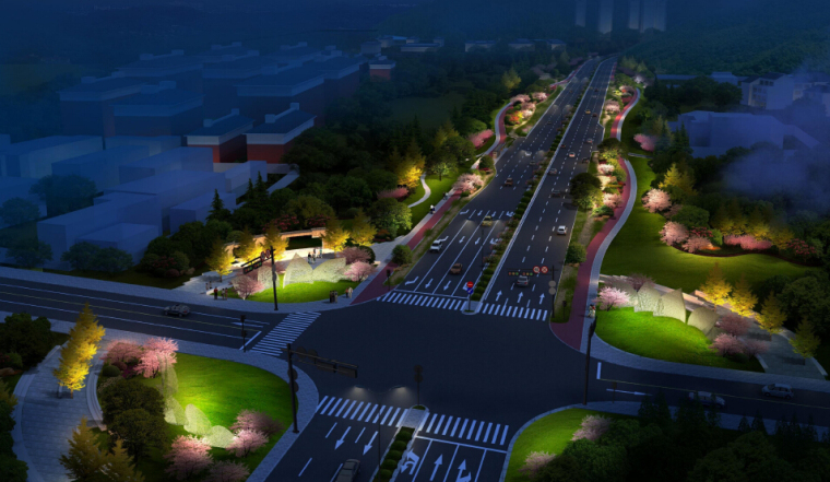 市政道路提升改造工程设计方案投标文本94页附177张图纸(拼宽桥拼宽路基,路桥交通景观)_2