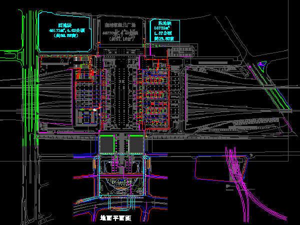 铁路枢纽广场工程设备图纸323张(照明给排水、消防供电智能化系统)