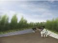 [日本]小清新风格禅意大禅堂建筑设计方案文本