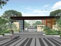 [广东]生态滨水全龄运动住宅社区景观规划设计(方案+SU模型+CAD平面图+实景图)