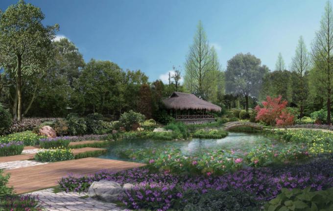 [贵州]湖畔原野生态湿地公园景观设计方案(2017最新)