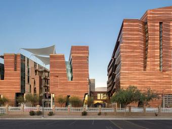 美国带有雕塑感的研究中心