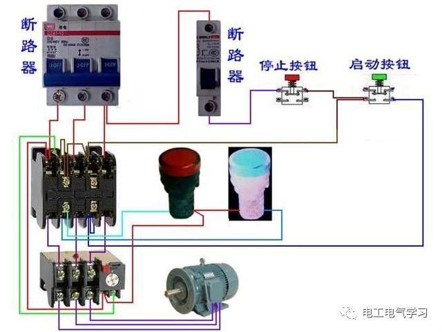 【电工必备】开关照明电机断路器接线图大全非常值得收藏!_76
