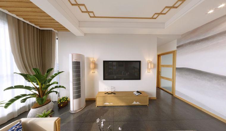 [装修案例]龙湖九里晴川127平米新中式风格装修