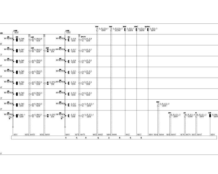 [江苏]同济-启东市行政综合服务中心电气施工图(含照明及配电系统,空调配电与控制系统,防雷与接地)