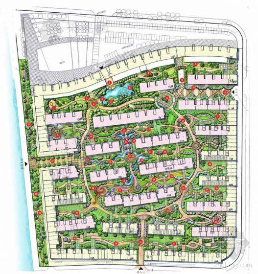 [福建福州]花园小区环境景观设计方案