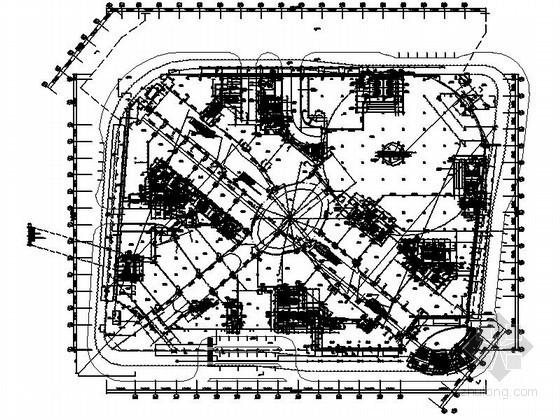 [杭州]某大型商业综合体建筑方案图