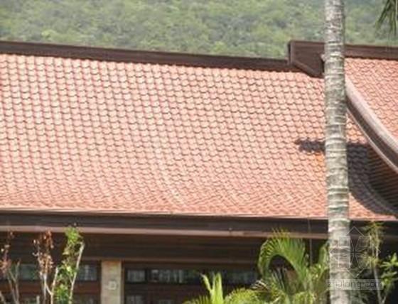 建筑工程异形曲面屋面陶瓦施工工法