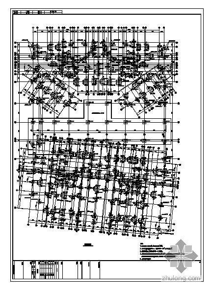 惠州某高层住宅结构图