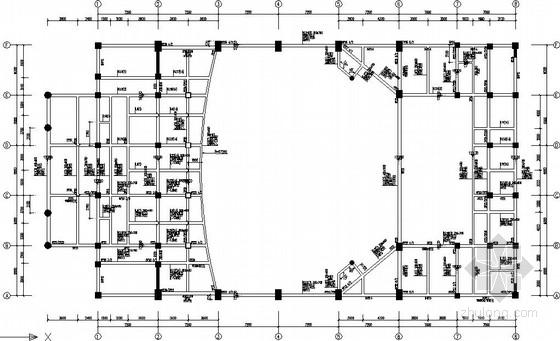 7度区框架电影院结构施工图