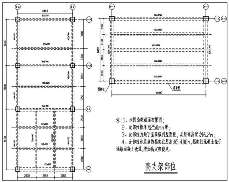 综合购物广场工程高支架模板专项施工方案(35页)