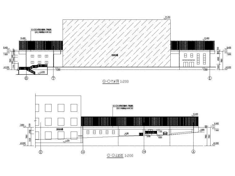 [湖南]一层财经学校体育活动中心建筑结构全套图