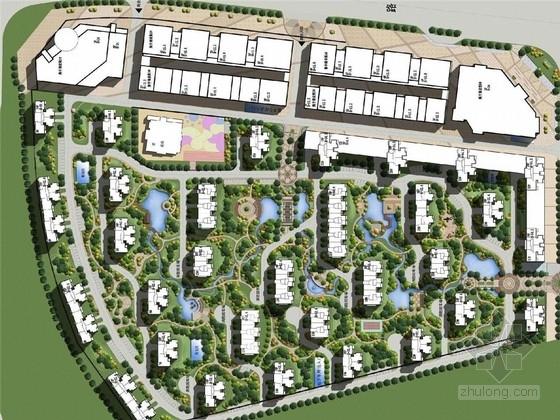 [沈陽]新古典主義中式園林居住區景觀規劃設計方案