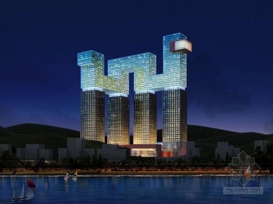 [大连]现代风格酒店式公寓建筑设计方案文本(含五种方案)