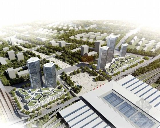 [安徽]现代风格城市综合体规划及单体设计方案文本(国外事务所)
