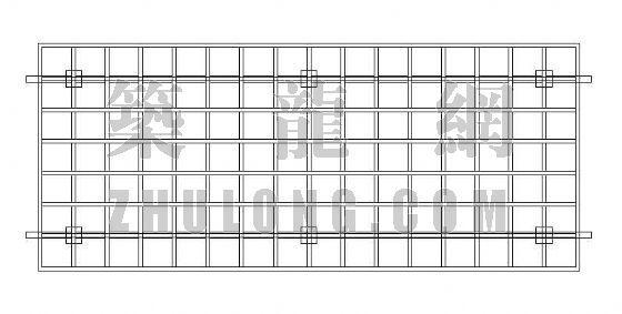木花架廊详图-2