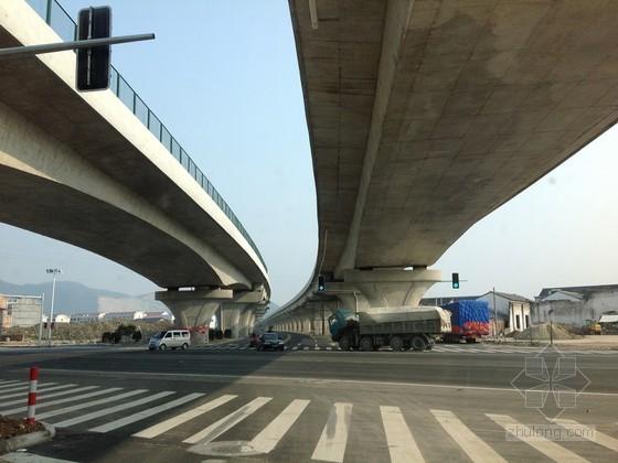 [浙江]高速公路高架桥工程实施性施工组织设计109页(T梁 现浇箱梁)