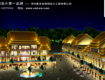 云南西双版纳龙舟广场景观泛光照明