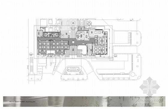[台湾]豪华五星级饭店餐厅室内设计概念方案