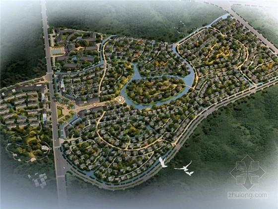 [云南]大型低密度居住区规划概念设计方案文本