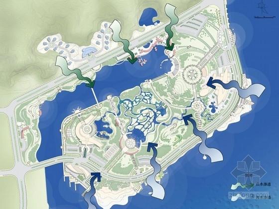[广州]开发区海滨公园景观设计方案