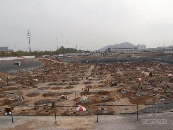 [湖南]安置房工程人工挖孔桩基础施工方案