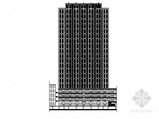[四川]超高層L型塔式綜合辦公樓建筑施工圖