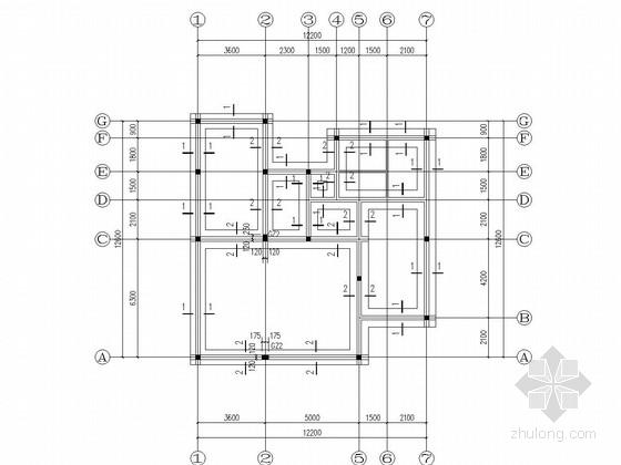 三层砖混结构住宅楼结构施工图(含建施)