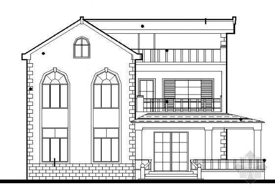 农村某三层小型住宅楼设计施工图