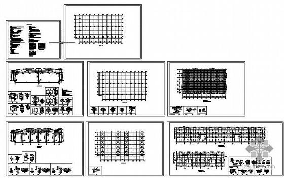 某两跨两坡门式轻钢结构厂房