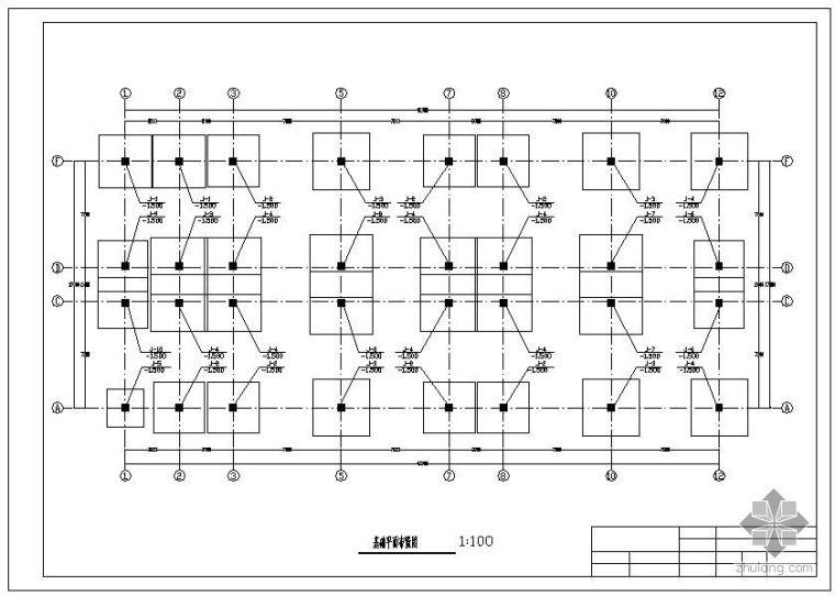 [学士]某六层公寓宿舍楼毕业设计(含计算书、部分建筑结构设计图)_2