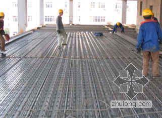 钢筋桁架模板安装施工工法