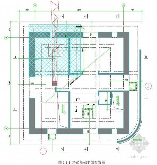 [广东]超高层建筑M600D动臂塔吊基础施工方案