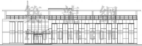 某小型办公楼建筑施工图