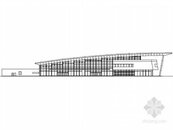 [东莞]某公路客运站建筑方案图(含效果图)
